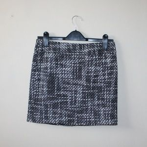 NWOT Tommy Hilfiger Woven Tweed Mod Mini Skirt
